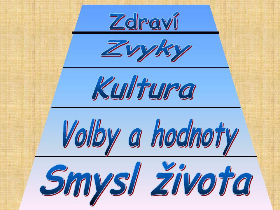 Zdraví Zvyky Kultura Volby a hodnoty Smysl života