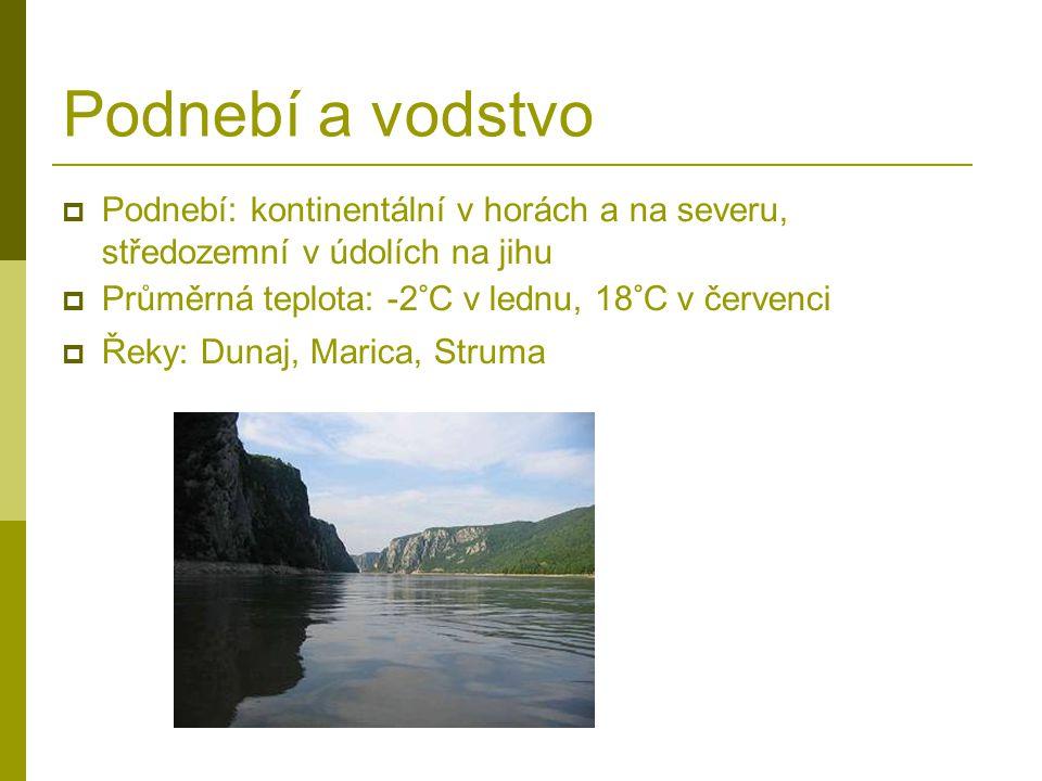 Podnebí a vodstvo Podnebí: kontinentální v horách a na severu, středozemní v údolích na jihu. Průměrná teplota: -2°C v lednu, 18°C v červenci.