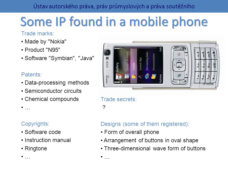 Some IP found in a mobile phone