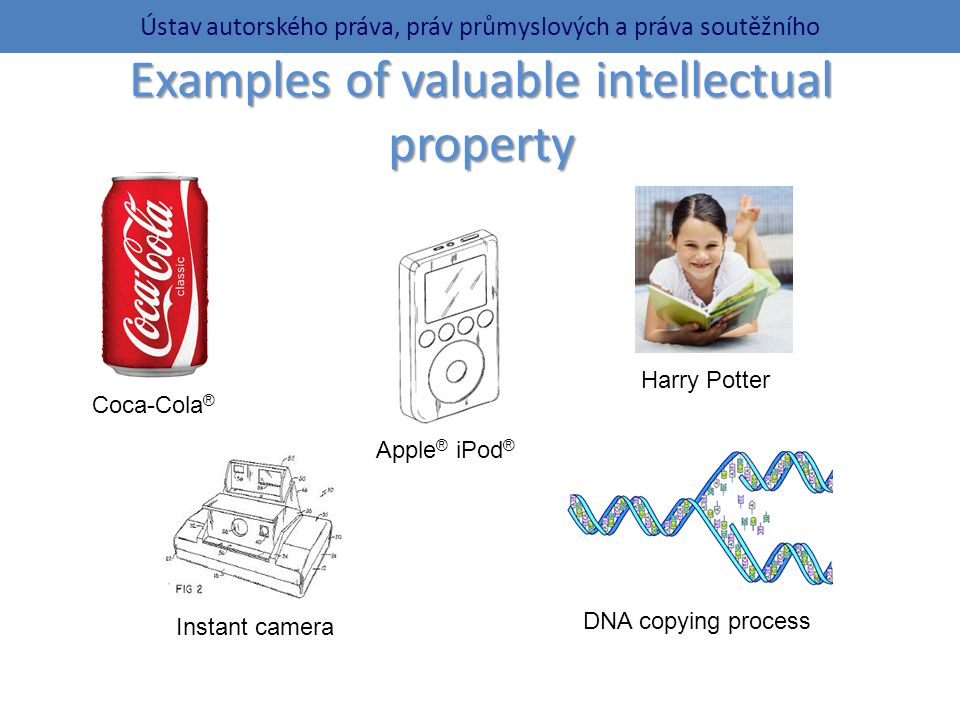 Examples of valuable intellectual property