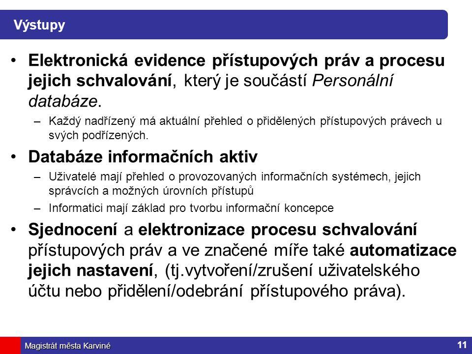 Databáze informačních aktiv