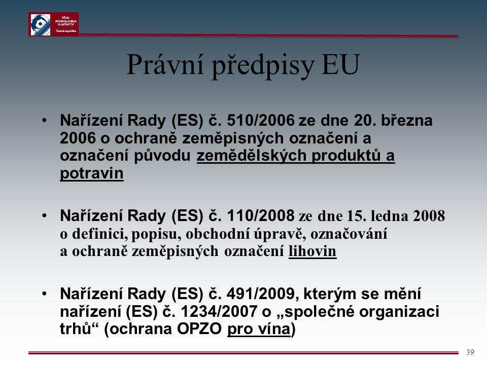 Právní předpisy EU