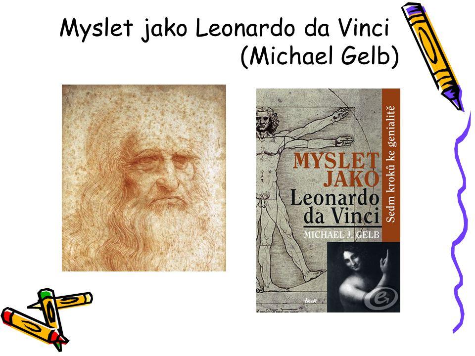 Myslet jako Leonardo da Vinci (Michael Gelb)