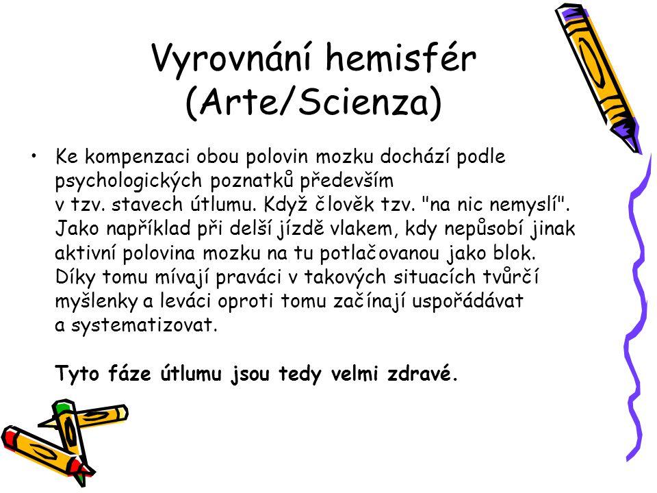 Vyrovnání hemisfér (Arte/Scienza)