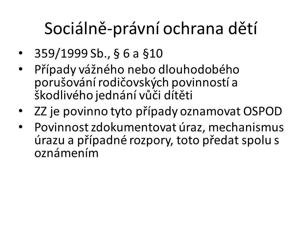 Sociálně-právní ochrana dětí