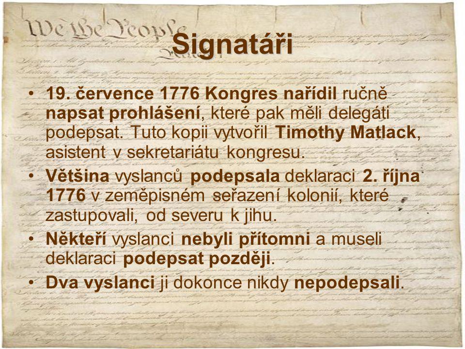 Signatáři