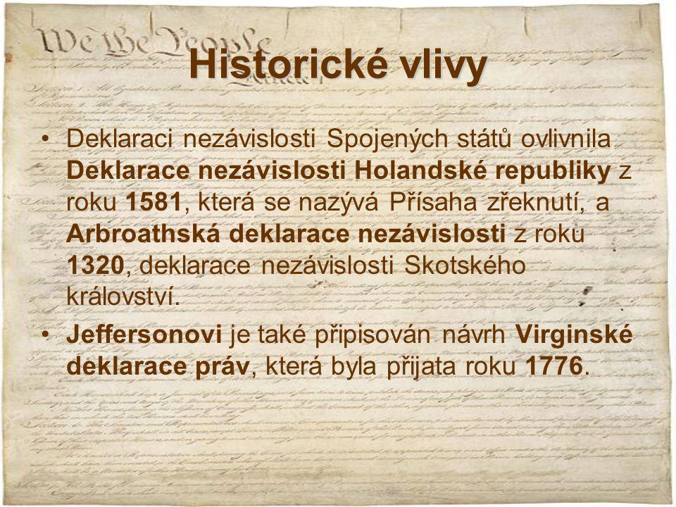 Historické vlivy