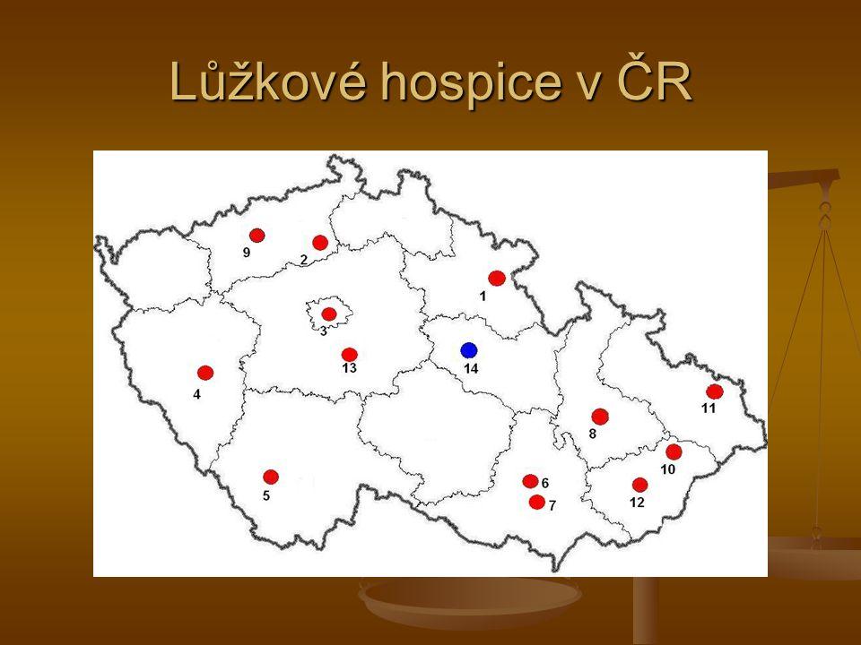 Lůžkové hospice v ČR
