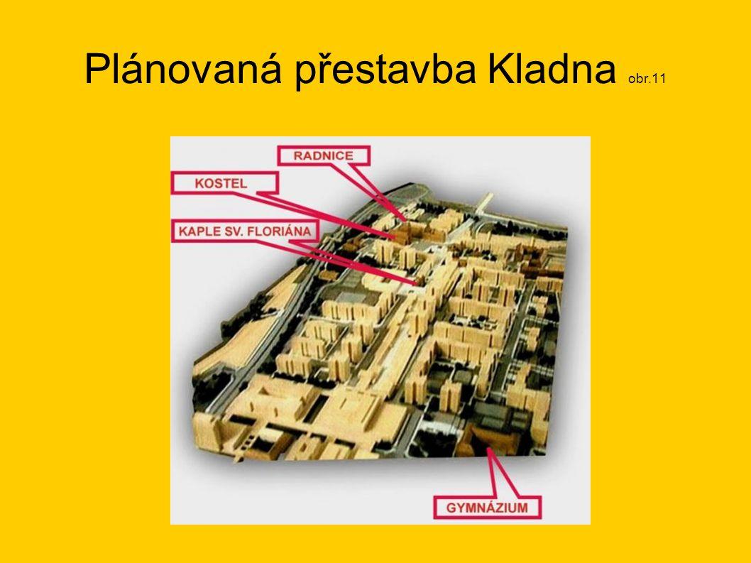 Plánovaná přestavba Kladna obr.11