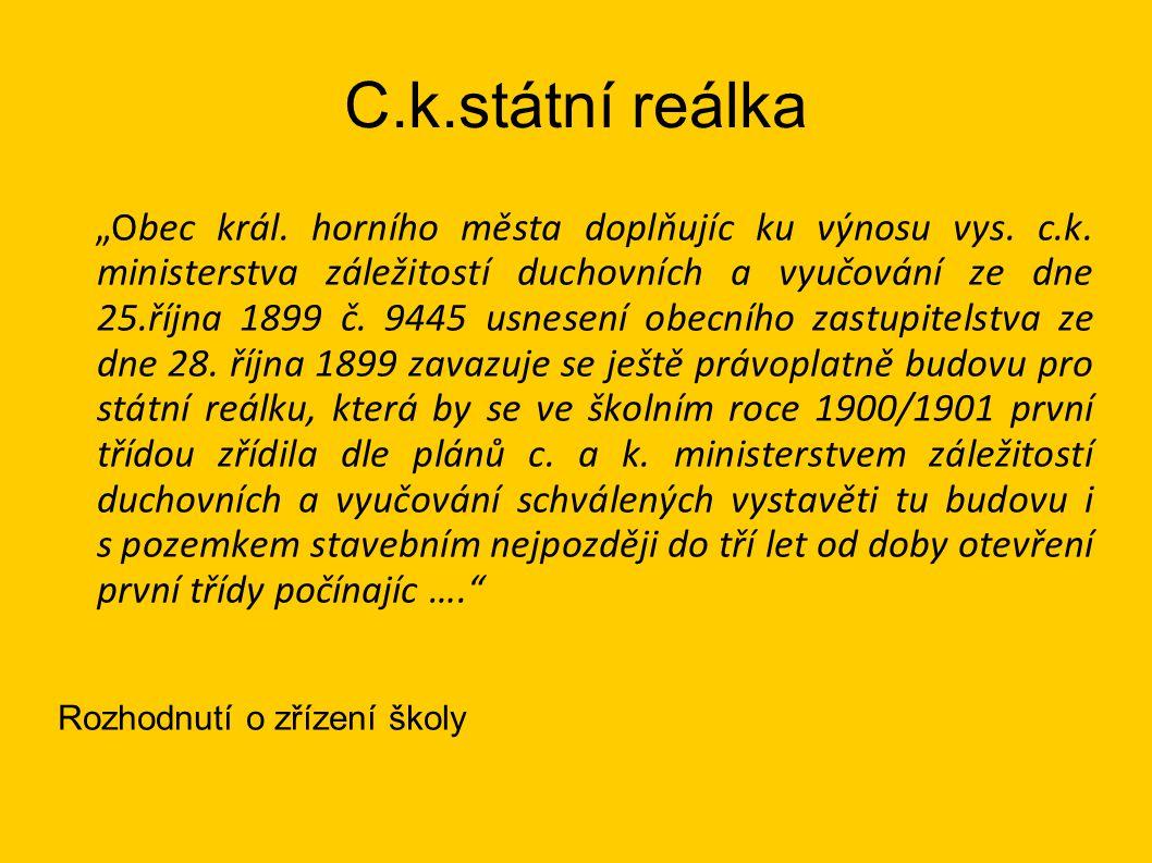 C.k.státní reálka