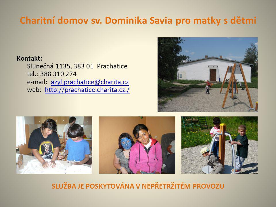 Charitní domov sv. Dominika Savia pro matky s dětmi