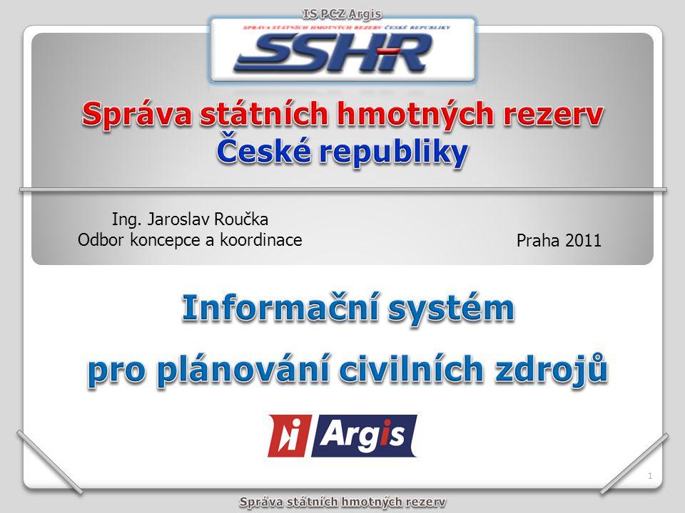 Informační systém pro plánování civilních zdrojů Argis