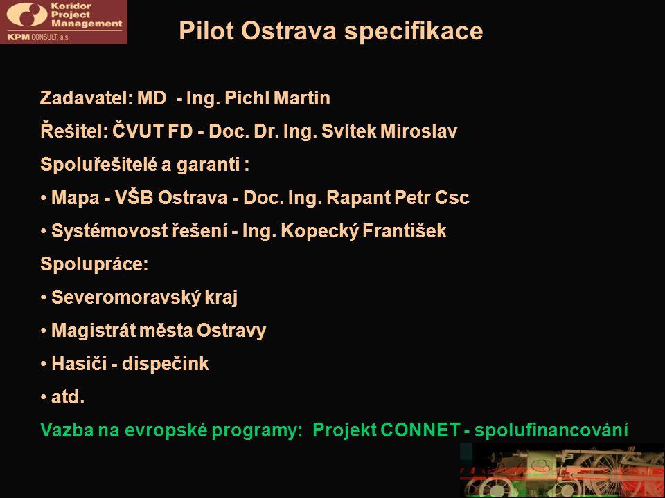 Pilot Ostrava specifikace