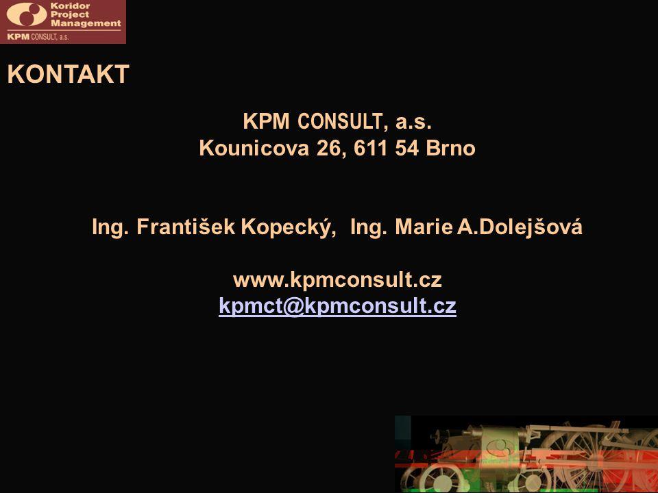 Ing. František Kopecký, Ing. Marie A.Dolejšová