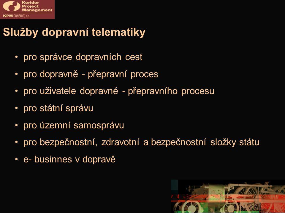 Služby dopravní telematiky