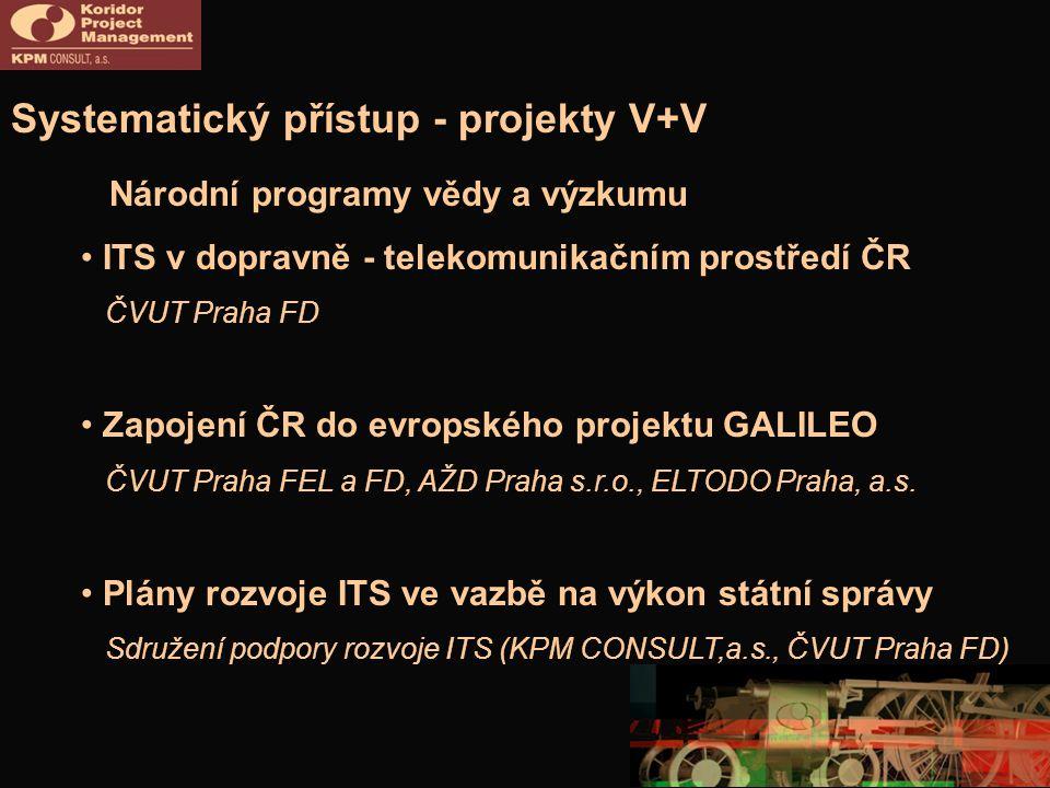 Systematický přístup - projekty V+V
