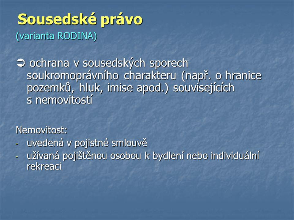 Sousedské právo (varianta RODINA)