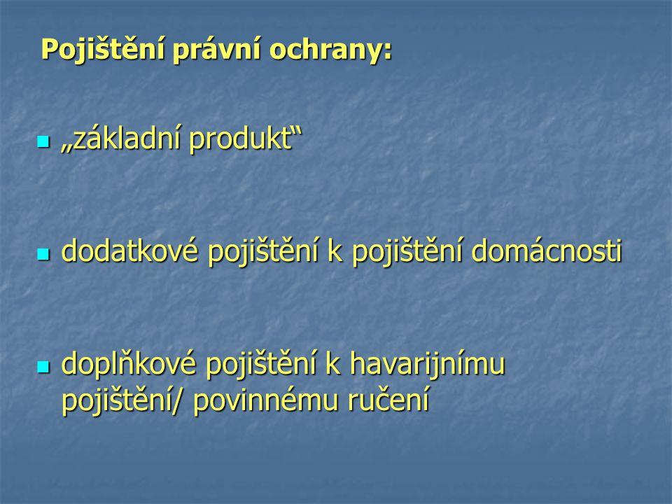 Pojištění právní ochrany: