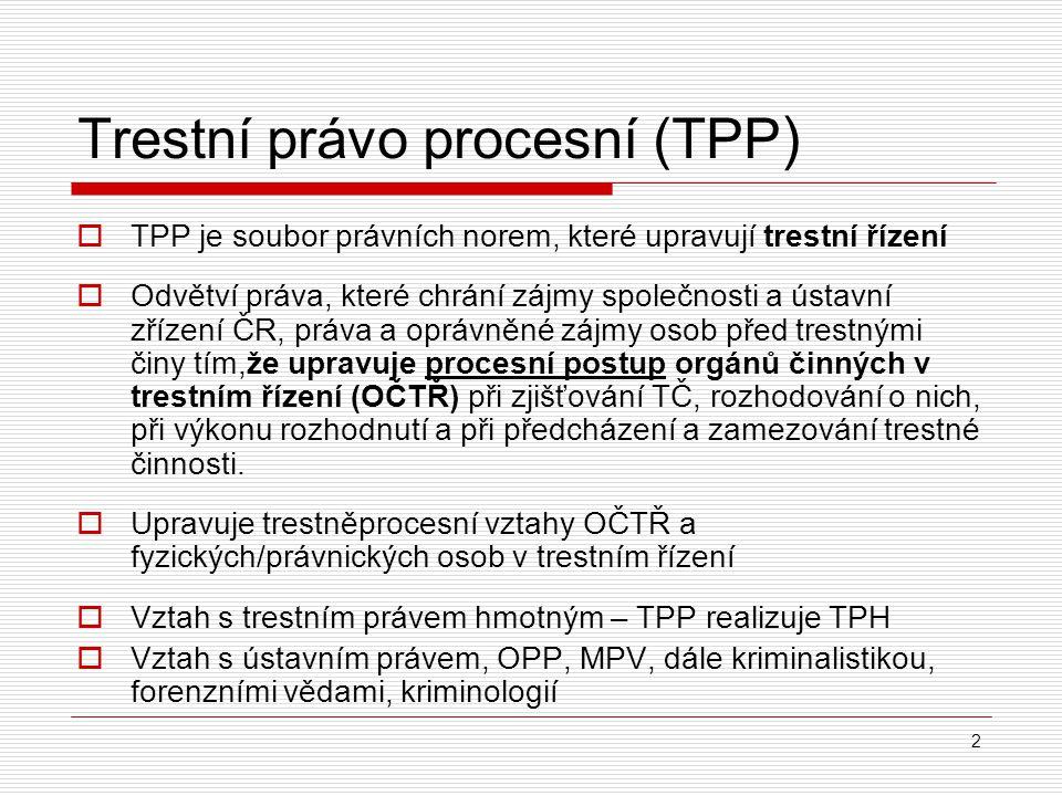 Trestní právo procesní (TPP)