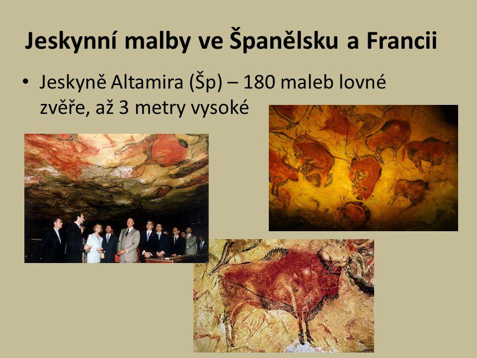 Jeskynní malby ve Španělsku a Francii