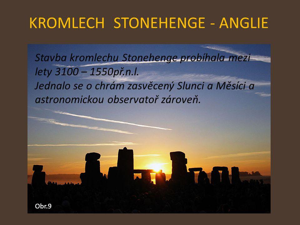 KROMLECH STONEHENGE - ANGLIE