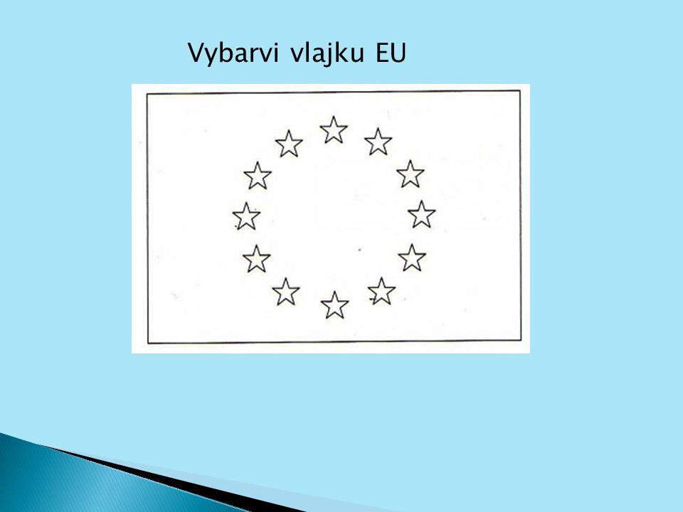 Vybarvi vlajku EU
