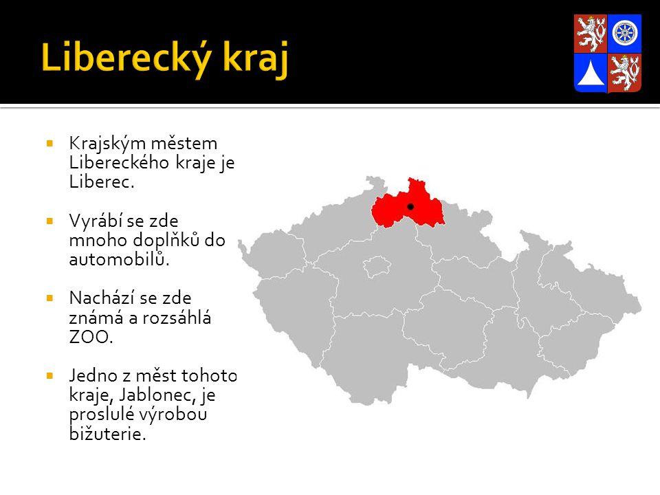 Liberecký kraj Krajským městem Libereckého kraje je Liberec.