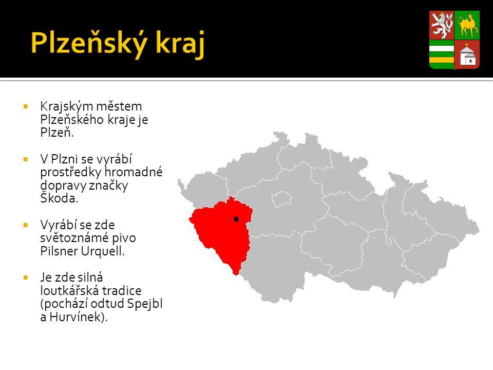 Plzeňský kraj Krajským městem Plzeňského kraje je Plzeň.