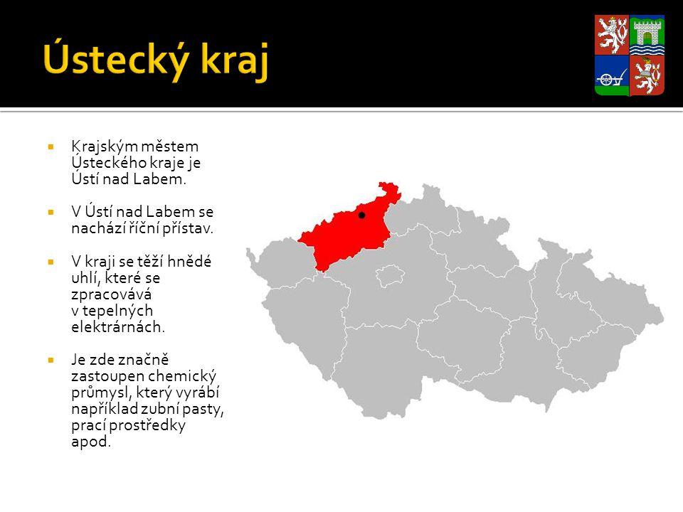 Ústecký kraj Krajským městem Ústeckého kraje je Ústí nad Labem.