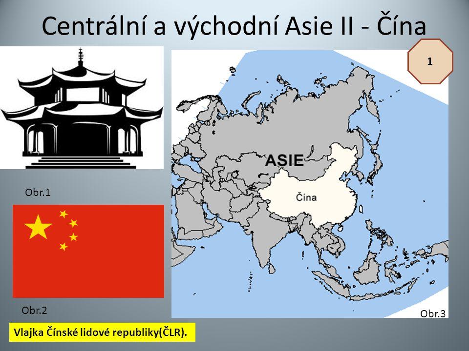 Centrální a východní Asie II - Čína
