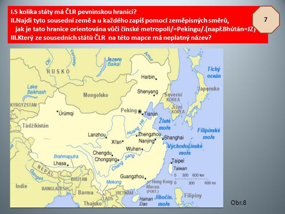 I.S kolika státy má ČLR pevninskou hranici