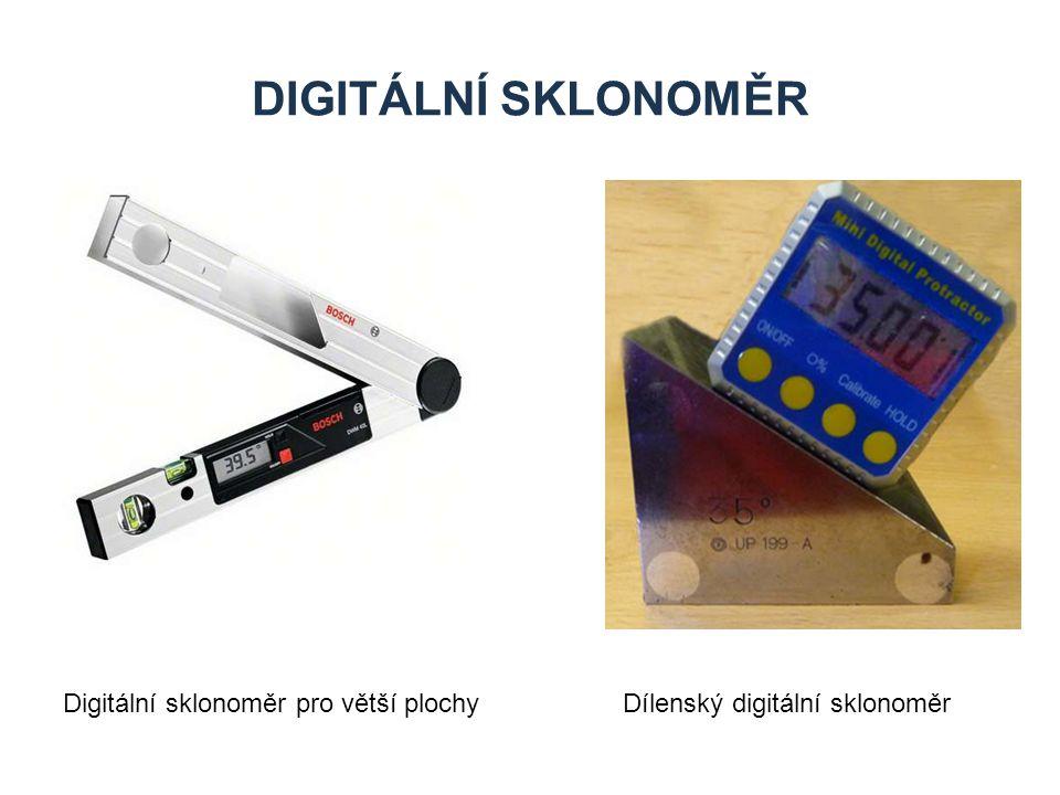 DIGITÁLNÍ SKLONOMĚR Digitální sklonoměr pro větší plochy