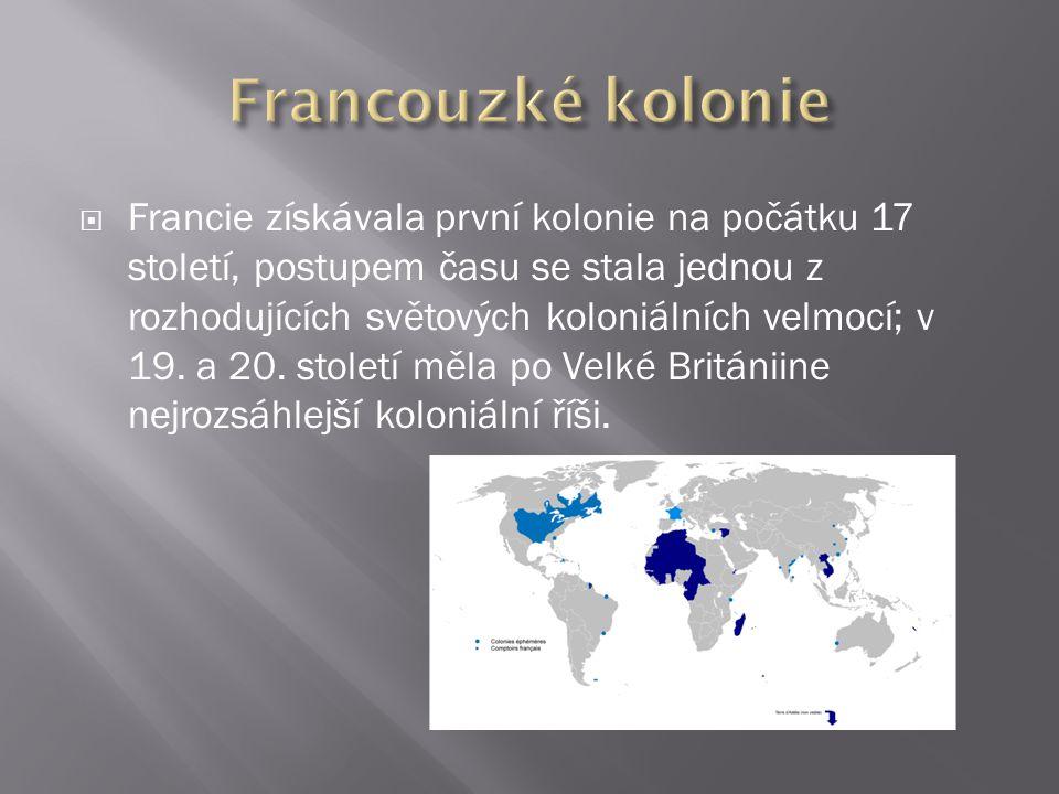 Francouzké kolonie