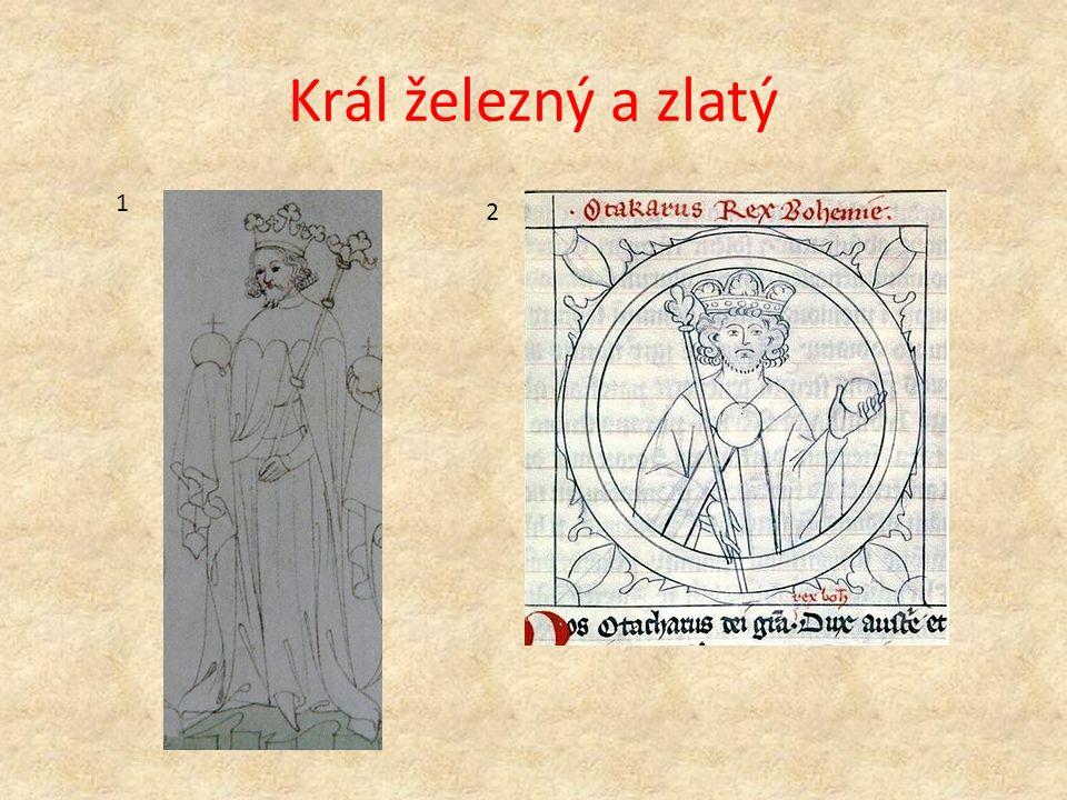 Král železný a zlatý 1 2