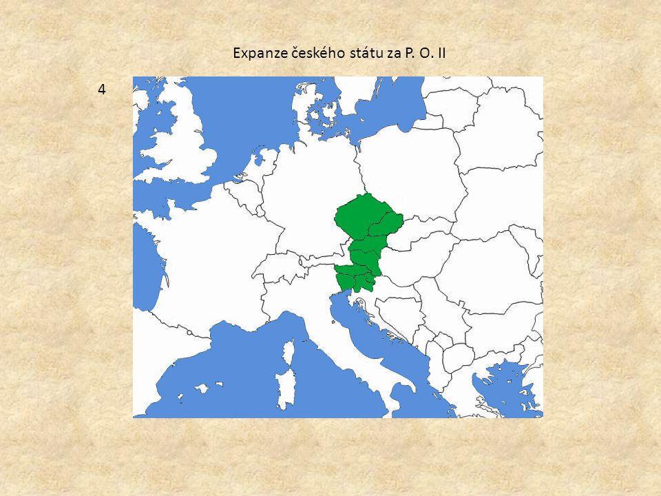 Expanze českého státu za P. O. II