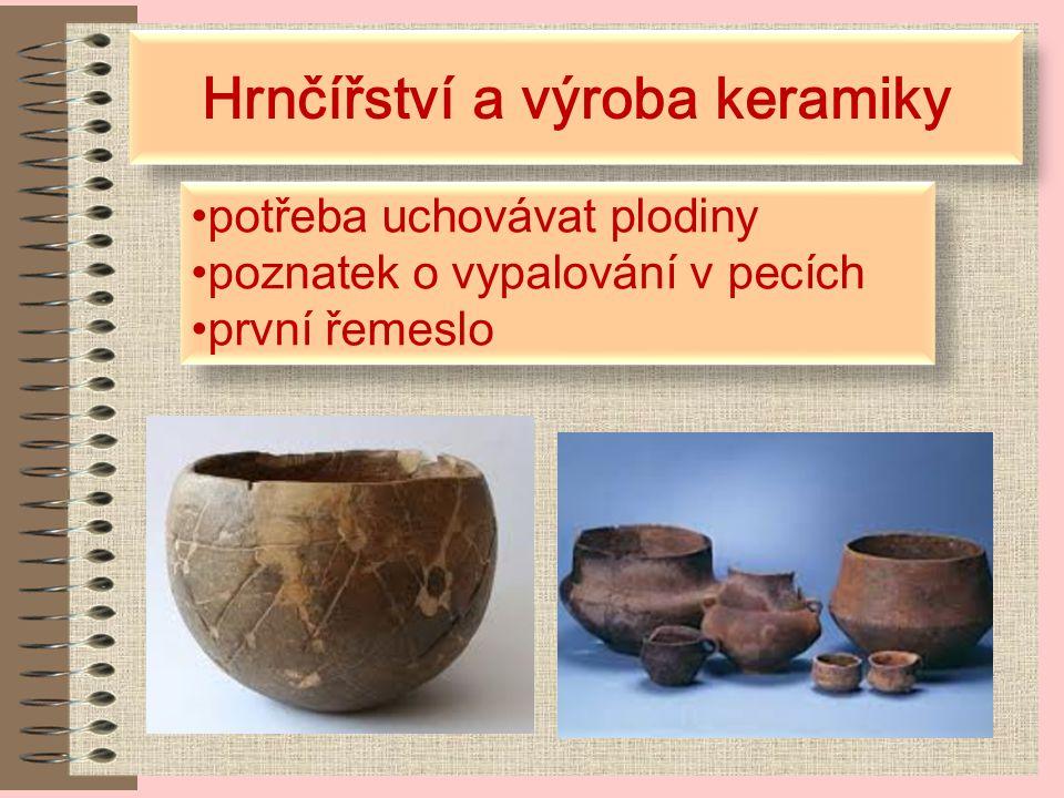 Hrnčířství a výroba keramiky