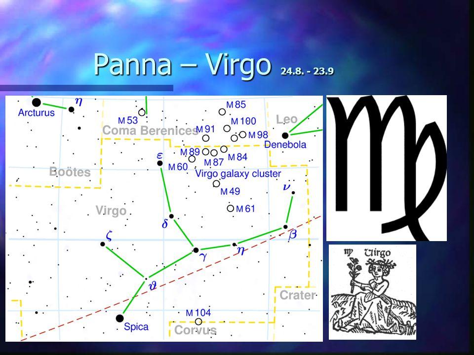 Panna – Virgo 24.8. - 23.9