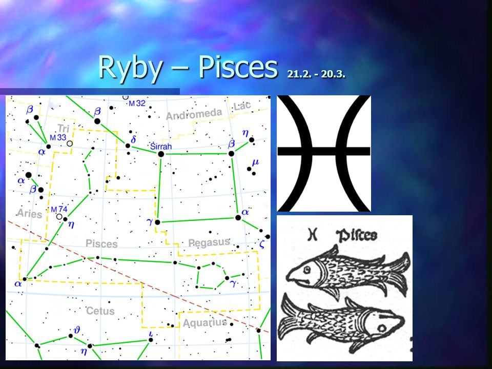 Ryby – Pisces 21.2. - 20.3.