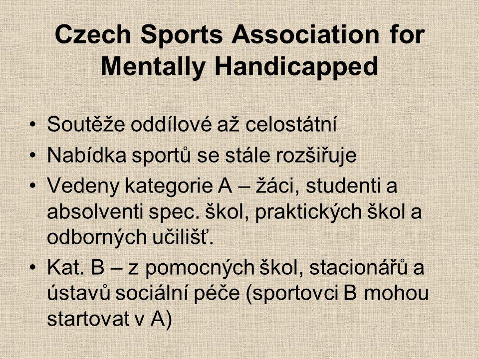 Czech Sports Association for Mentally Handicapped