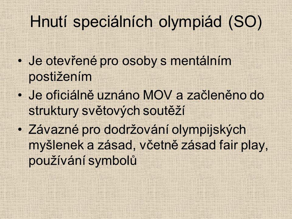 Hnutí speciálních olympiád (SO)