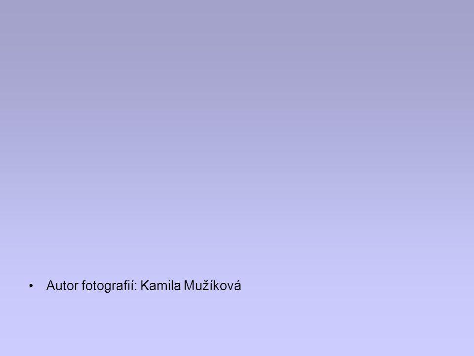 Autor fotografií: Kamila Mužíková