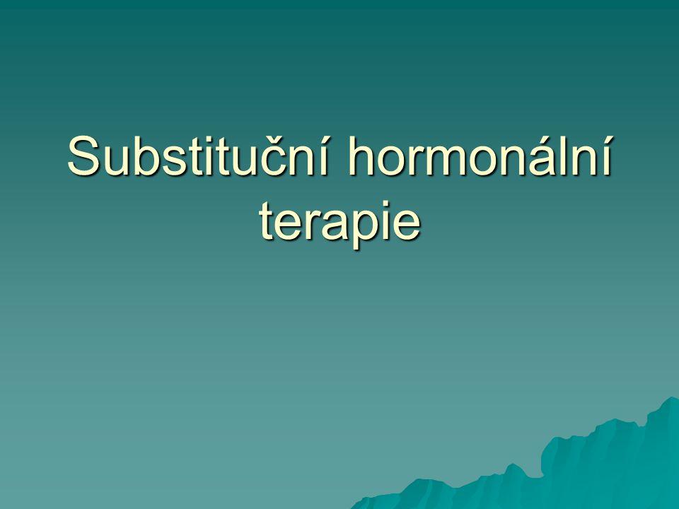 Substituční hormonální terapie