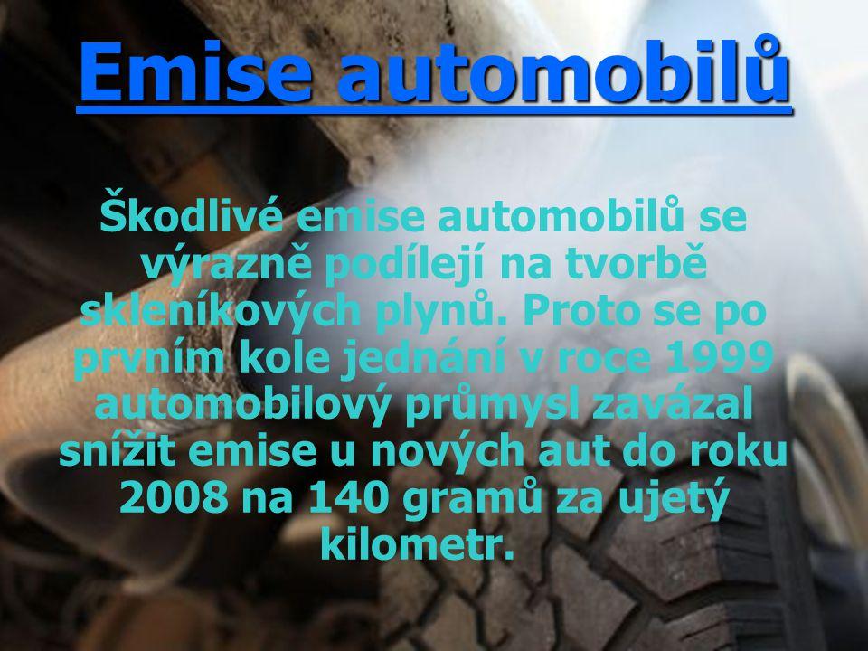 Emise automobilů