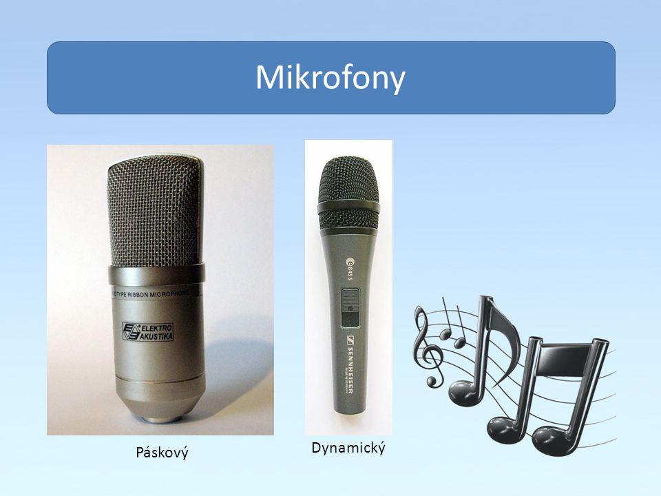 Obsah Mikrofony Dynamický Páskový