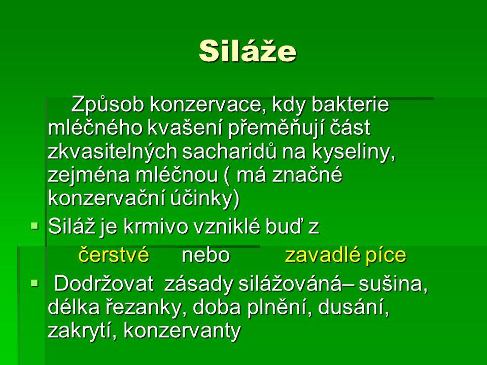 Siláže