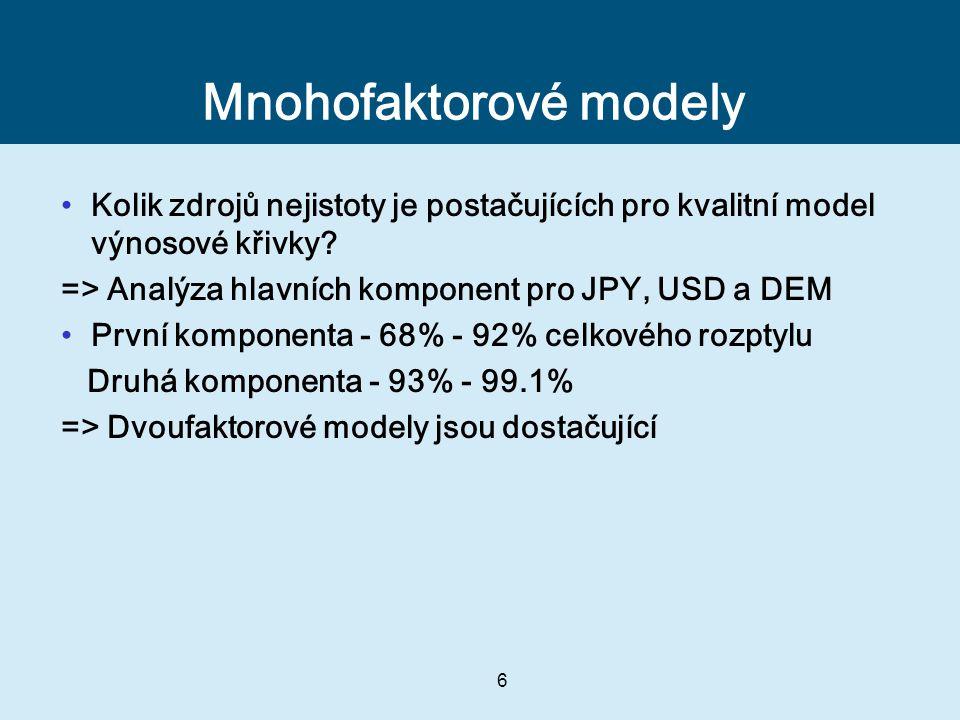 Mnohofaktorové modely
