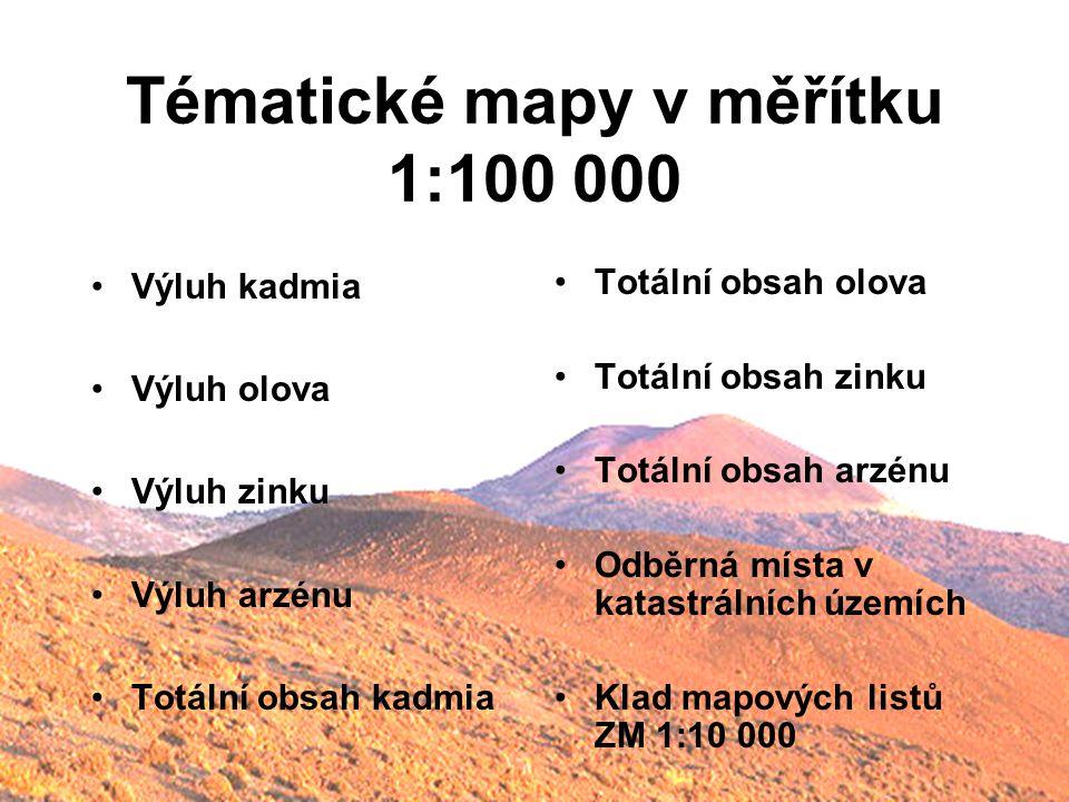 Tématické mapy v měřítku 1:100 000