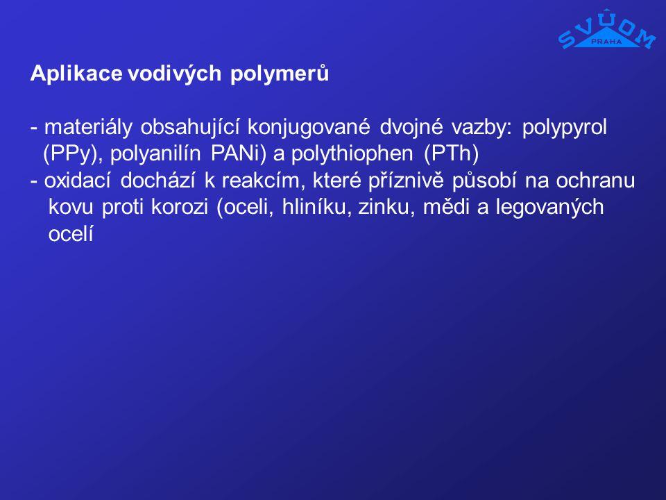 Aplikace vodivých polymerů