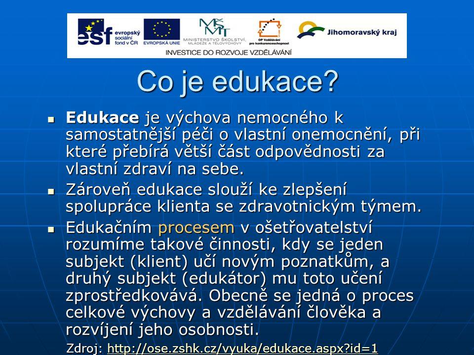 Co je edukace