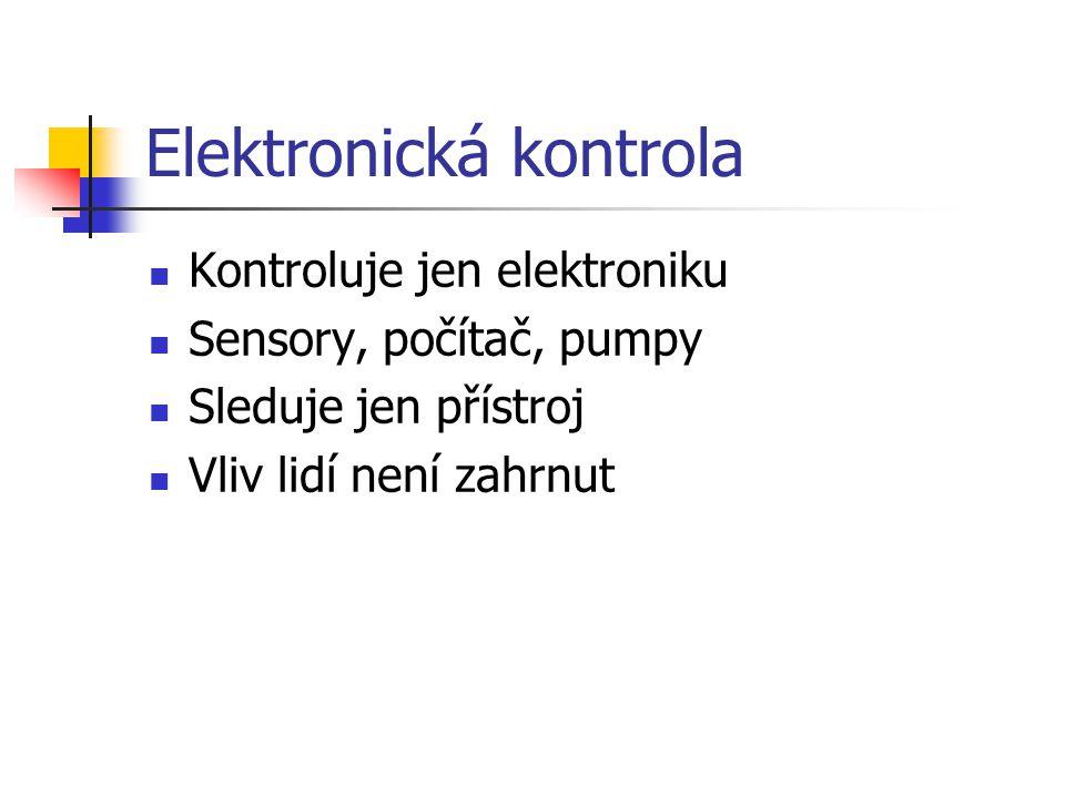 Elektronická kontrola
